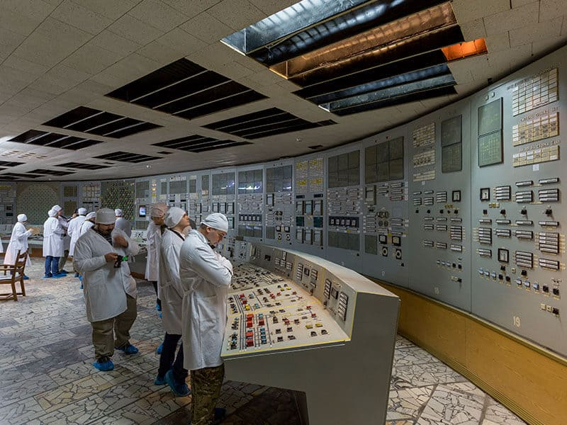 First days after Chernobyl nuclear power plant explosion